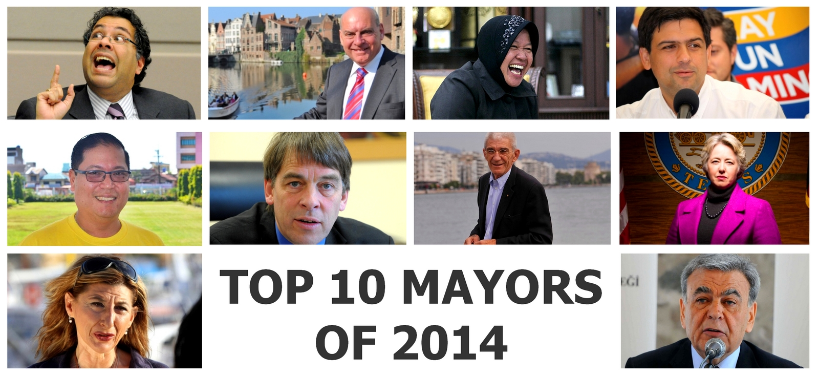 The top 10 Mayors of the world 2014