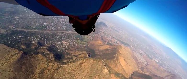 Insane Stunt by Chilean Wingsuit Pilot Sebastian Alvarez