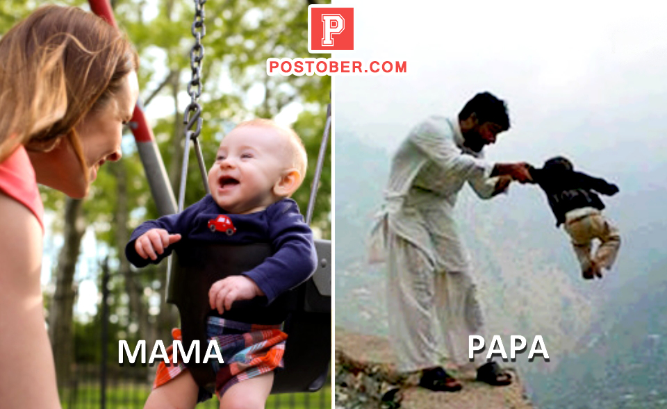 15 best mama vs papa moments while taking care of their kids