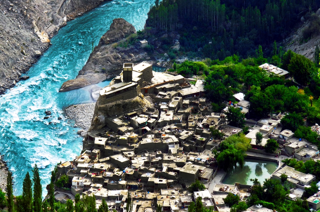 Altit Fort Hunza by Imran Ahmed Hunzai