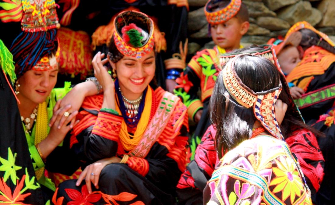 Kalash women