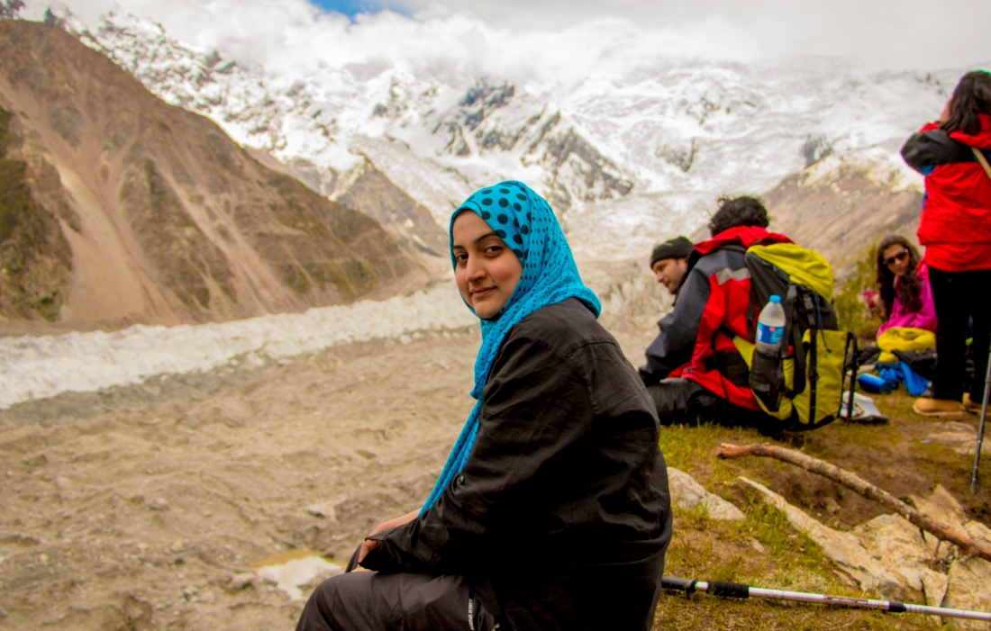 Trekking at Nanga Parbat Base Camp (Fairy Meadows) by Saira Ali Khan