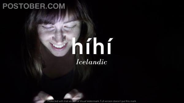 This is how people laugh in Icelandic